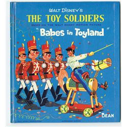"""The Toy Soldiers, Babes in Toyland"" Book."