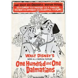 """101 Dalmatians"" Theater Campaign Book."