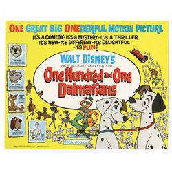 "Collection of (9) ""101 Dalmatians"" Lobby Cards."