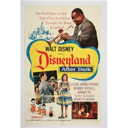 """Disneyland After Dark"" Original Release Movie Poster."