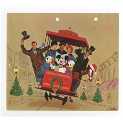 Disney Studio Christmas Card for 1962.