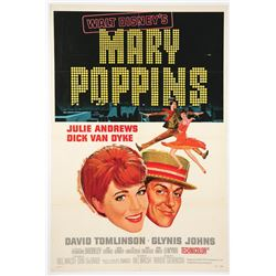 """Mary Poppins""  Original Release Movie Poster."