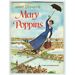 "Signed  ""Mary Poppins"" Big Golden Book."