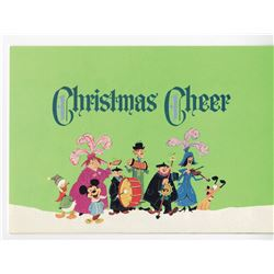 Disney Studio Christmas Card for 1964.