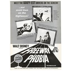 """Freeway Phobia"" Promotional Fold-Out."