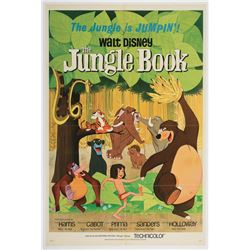 "Original Release ""The Jungle Book""Movie Poster."