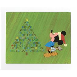 Disney Studio Christmas Card for 1967.