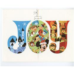 Disney Studio Christmas Card for 1968.
