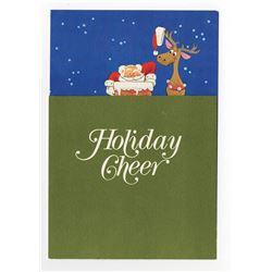 Disney Studio Christmas Card for 1969.