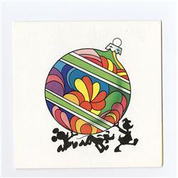 Disney Studio Christmas Card for 1970.