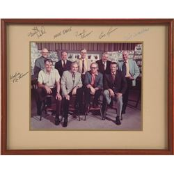Signed Color Photo of Disney's Nine Old Men.