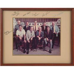 Signed Color Photo of Disney's Nine Old Men.