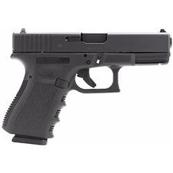 "Glock PI1950201 G19 9mm 4.01"" 10+1 FS Polymer Grip/Frame Black"