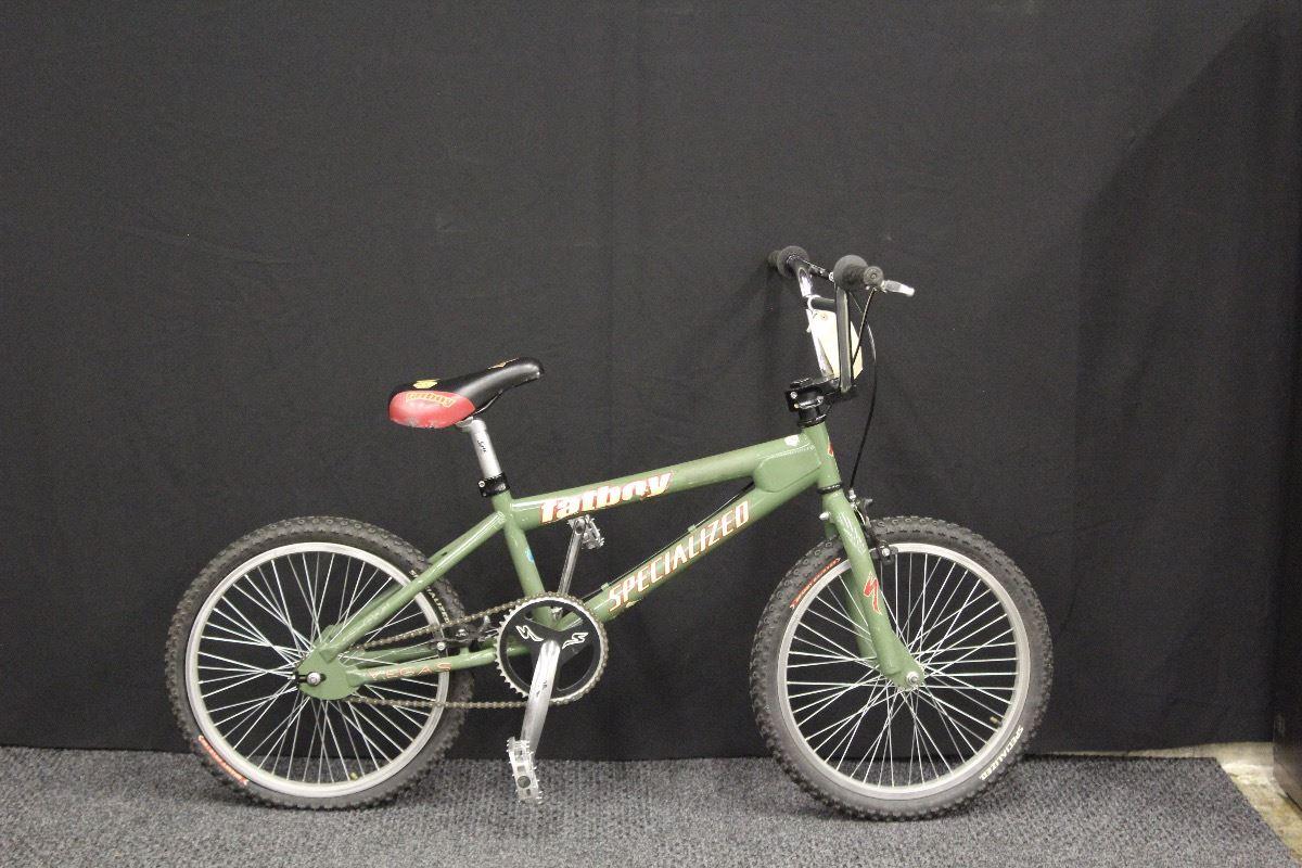 GREEN SPECIALIZED FATBOY BMX BIKE