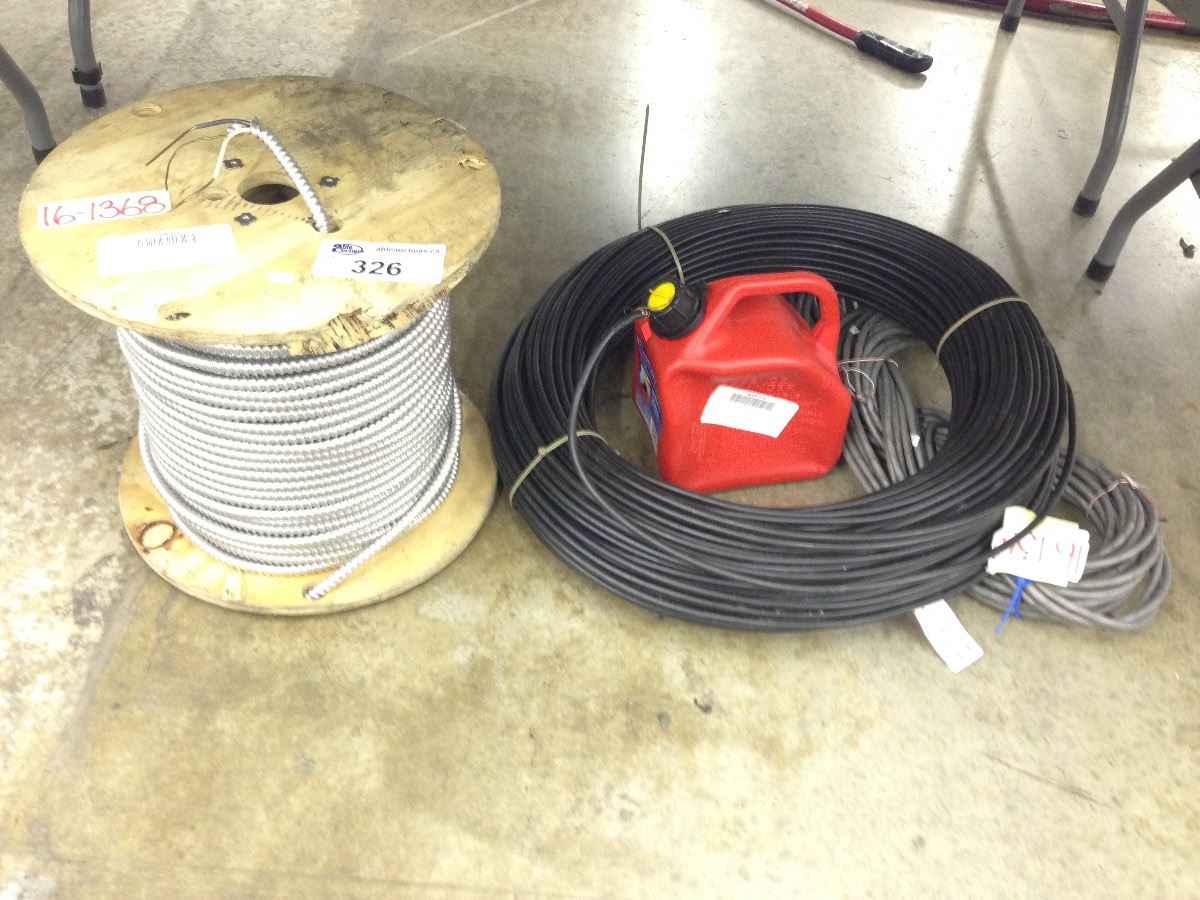 Peachy Large Spools Of Bx Cable And Wire Wiring 101 Jonihateforg