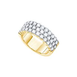 Genuine 3.0 CTW Diamond Ladies Ring 14KT Yellow Gold - GD55292-REF#386H9W