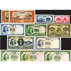 Bank of China. 1935-37 Issues.
