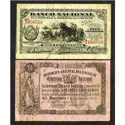 Banco Nacional and Republica Oriental del Uruguay, Emision Nacional issues.