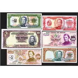 Republica Oriental del Uruguay. 1939-67 Issues.