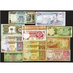 Various world notes.