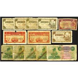 Banque de Syrie et du Liban, Republique Libanaise and Republique Syriene issues.