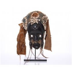 Antique African Mask from the Dan people of Ivory Coast or Liberia.