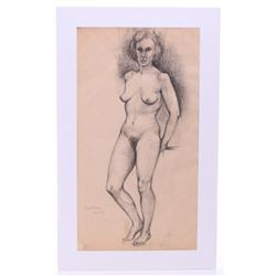 Raphael Soyer   (1899 - 1987)  Highly listed, Original
