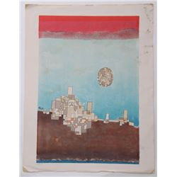 Paul Klee 1879-1940 Very well listed, Lithograph, highl