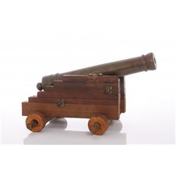 Late 19th Century signal canon.  SIZE: see attached rul