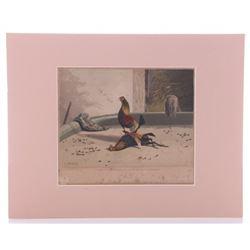 Newton Limburg Fielding (1799 - 1856) Original copper p