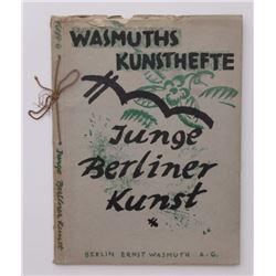 Junge Berliner Kunst 1920 13 Expressionist lithographs