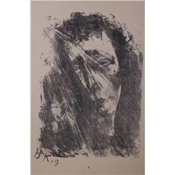 Oskar Kokoschka  (ca.1886-1980) Austria, Very well list