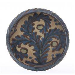 Antique porcelain dish.  Unknown origin.  Markings: cha