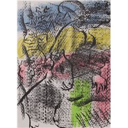 Marc Chagall original lithograph for XX Siecle #34 1970
