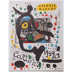 "Joan Miro [after] (Spanish, 1893 - 1983). ""Galerie Maeg"