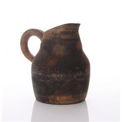 Late 18th Century farmhouse stoneware jug.  Provenance: