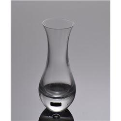 Kosta Boda Swedish crystal handmade vase.  SIZE: see at