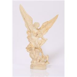 A. Santini sculpture signed by A. Santini himself.  Ami