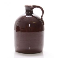 Vintage American two tone stone ware jug.  SIZE: see at