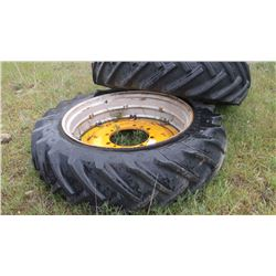 15.5 X 38 Tires, Rims and Wheels for G MM tractor