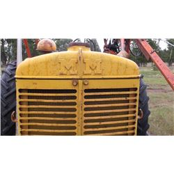 Z MM Tractor with Loader-Runs good- Everything Works, Recent Tune Up-New Cable on Loader-Gas  #01205