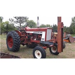 IH 706 with Post Pounder-Runs Good-Gas- 6177 Hours #5172SY