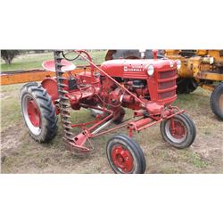 1952 Restored IH Farmall Cub- Complete Overhaul- Runs Good- New Front Tires-Gas- #151143-  5' Belly