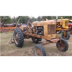 BF Avery MM Tractor with 7' MM Sickle Bar- 3 Point Mower- Runs Good- Gas  #2454894