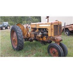 Z MM Tractor- Runs Good- Gas #00160632