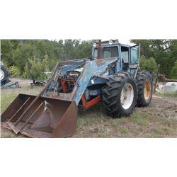 Ford County 4X4 Tractor- Loader- Hinkler Cab- Runs Good- Loader Works- Diesel-4559 Hours