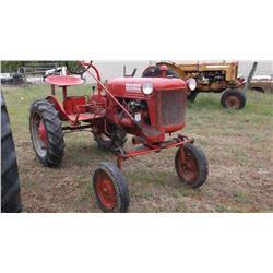 IH Farmall Cub with 5' Belly Mower- Runs Good- Mower Works- Gas  #143935