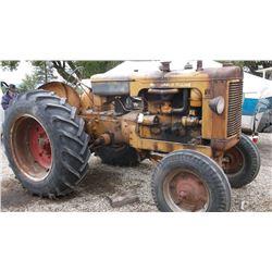 G MM Tractor- Runs Good- Gas #01649000166