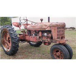 IH H Tractor- Runs Good- Gas #FBH31662