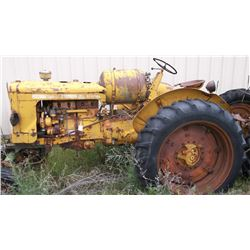 UB Special MM Tractor- Made 1 Year- Engine Seized- LP  #0970096